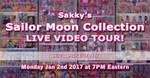 Sailor Moon Collection Live Video Tour!