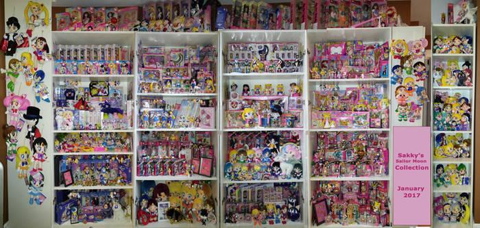 Sakky's Sailor Moon Collection - January 2017