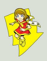 M is for Mary Marvel by Doomami