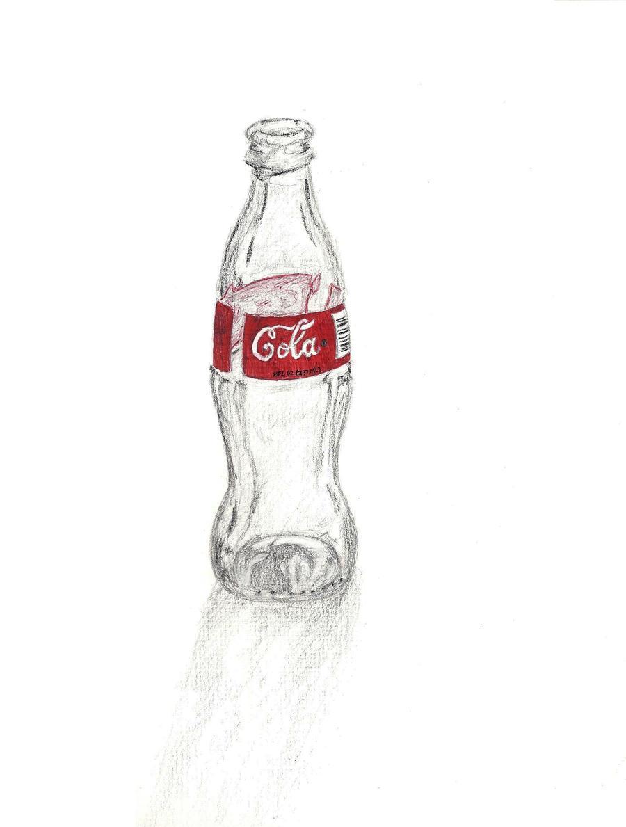 Coke Bottle by Pinora on DeviantArt