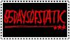 65daysofstatic stamp by loriluna