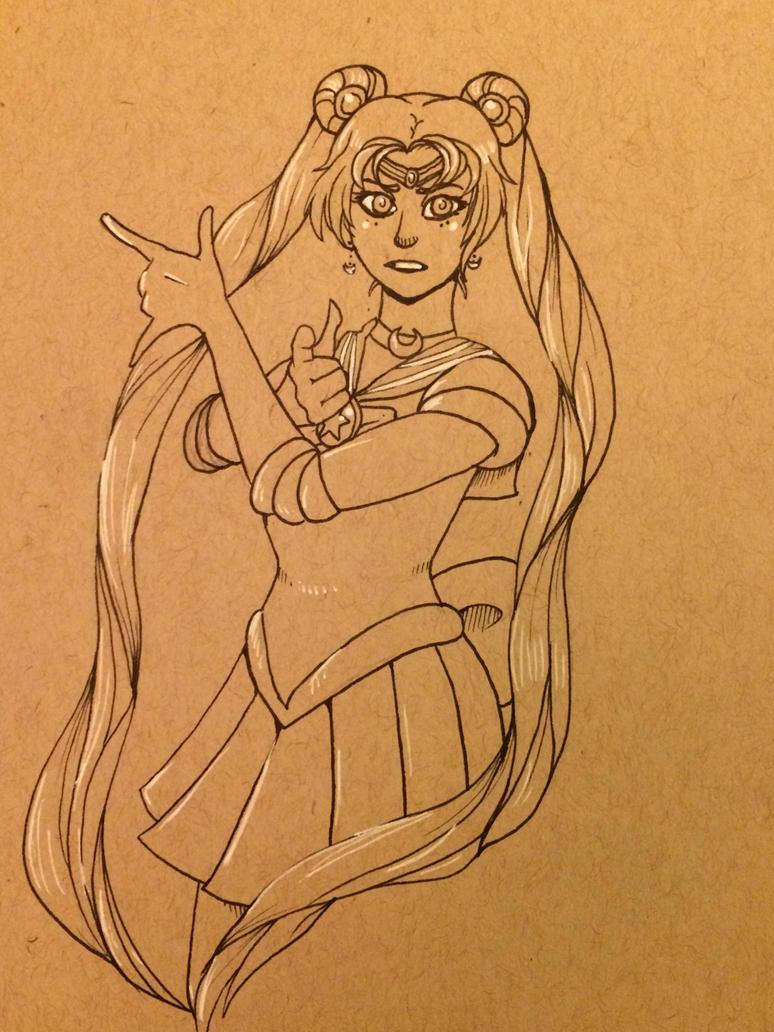Sailor Moon by Dinosaur-Apocalypse