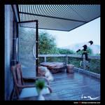 my silent balcony -morning-