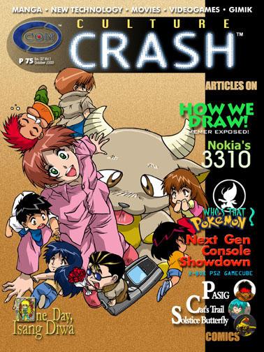 CultureCrashComics Issue 2 by CultureCrashComics