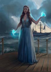 Sea Fairy by neizdannoyee