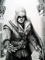 Assassin's creed's Ezio by Cr1msonCloud