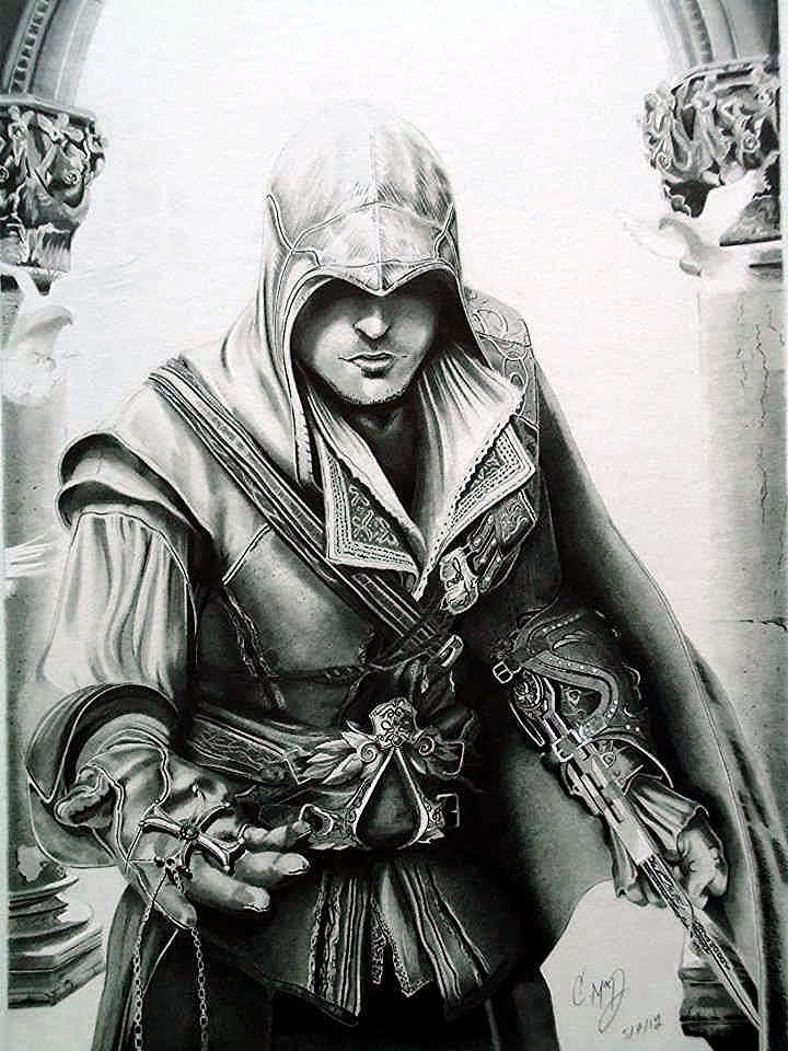 Assassin's creed's Ezio by Cr1msonCloud on DeviantArt