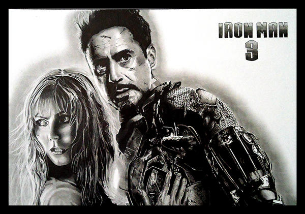 Iron Man by Cr1msonCloud