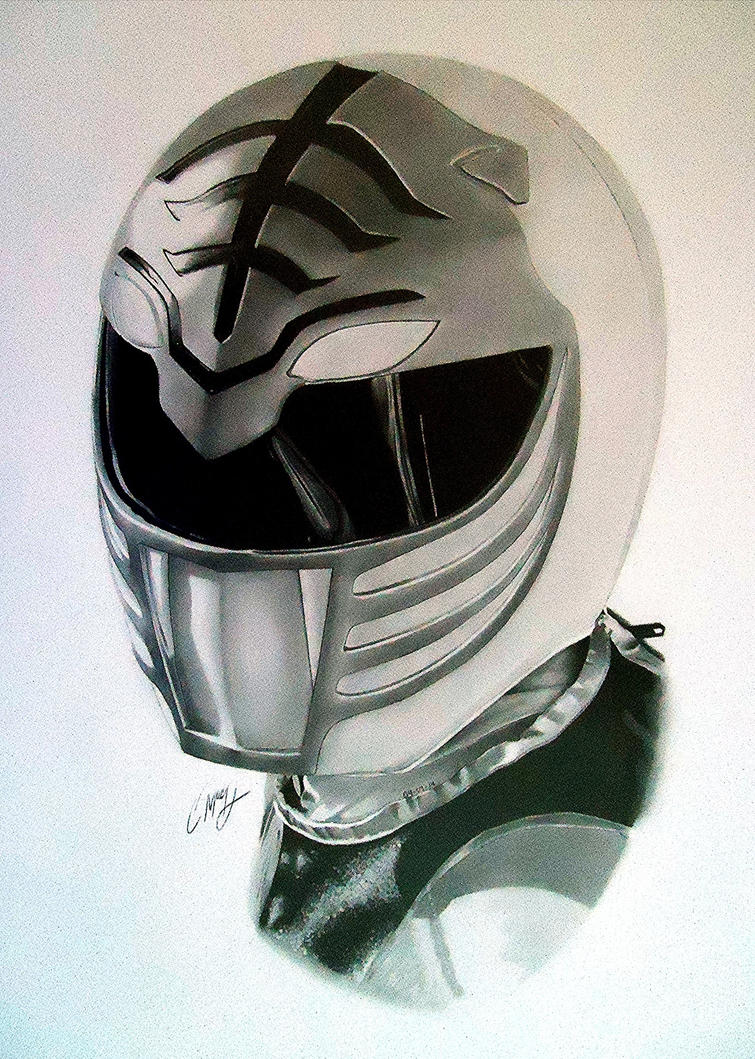 White ranger by Cr1msonCloud