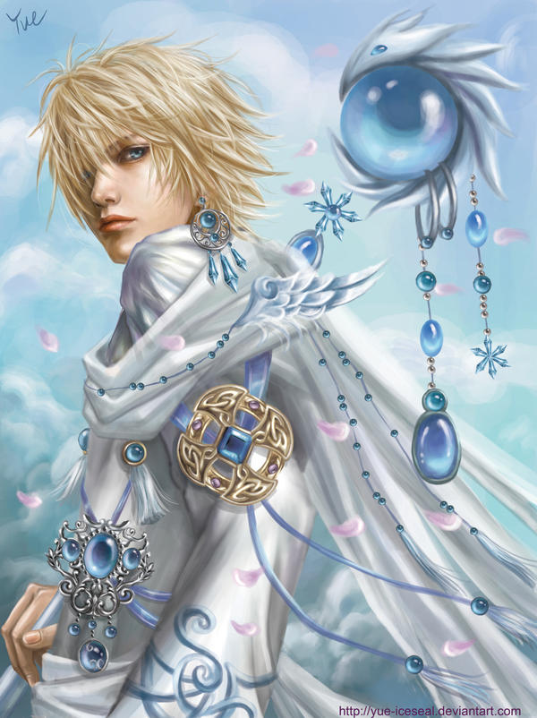 35 Beautiful Manga and Anime Art IllustrationsIce Mage Anime
