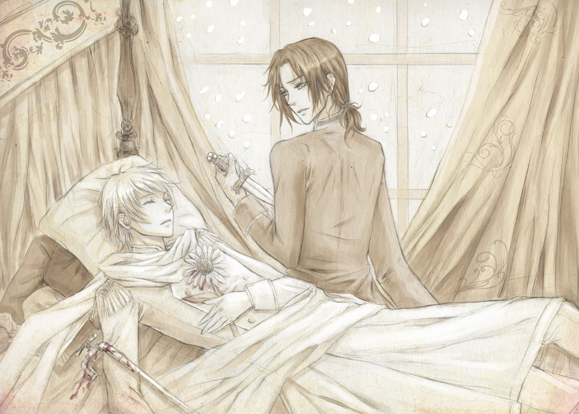 RoChu *-*  Hetalia__Russia_and_Lithuania_by_Yue_Iceseal