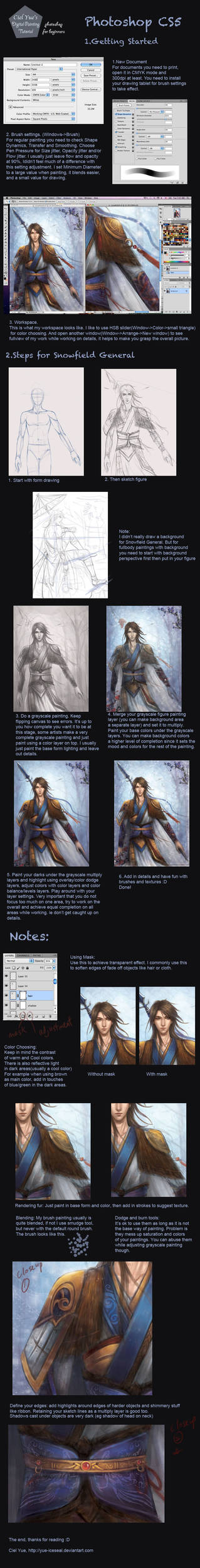 Photoshop Painting Tutorial