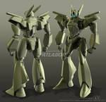 AV-X0 PATLABOR clay render