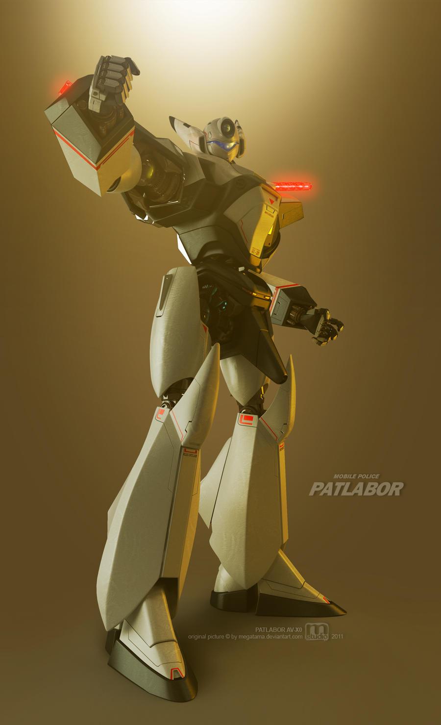 AV-X0 PATLABOR by megatama