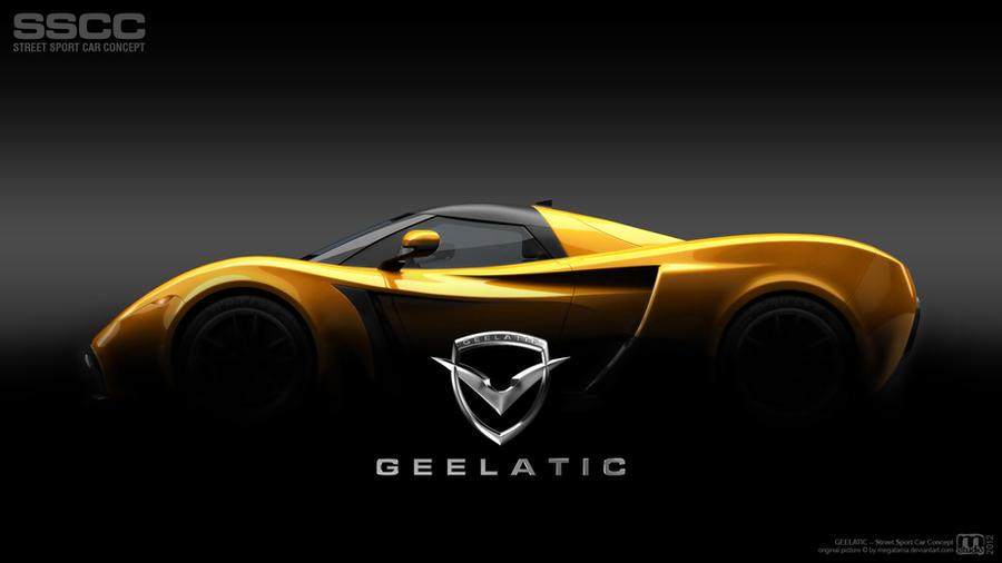 Geelatic Street Sport Car Concept By Megatama On Deviantart