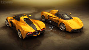 GEELATIC -- Street Sport Car Concept -- full view