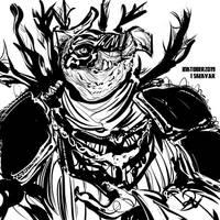 inktober2019 #1 SkekVar, the Ambassador / General