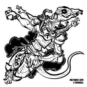 inktober2019 #4 - SkekMal