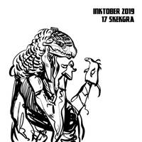 inktober2019 #17 - SkekGra
