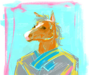 a simply terrible horse man