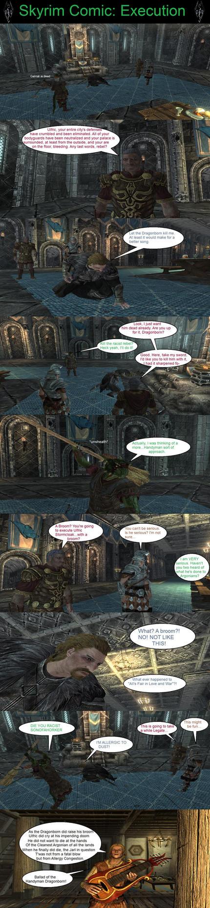 Skyrim is Strange - Execution by HelloMyNameIsEd