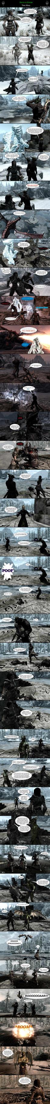 Skyrim is Strange - Time Warp by HelloMyNameIsEd