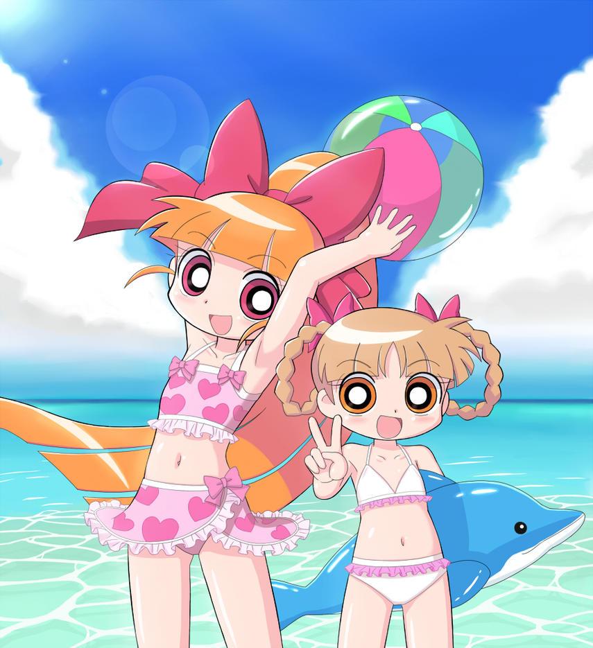 Momoko and Kuriko 2 by cc-kk