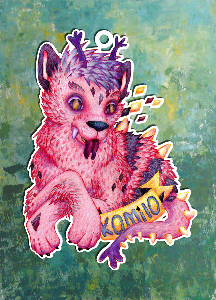 Kamilo Badge by coloralchemy
