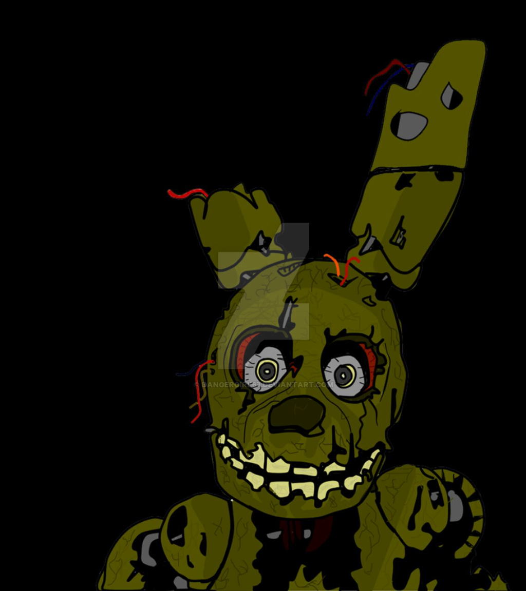 Fnaf springtrap by dangergirl67 on deviantart