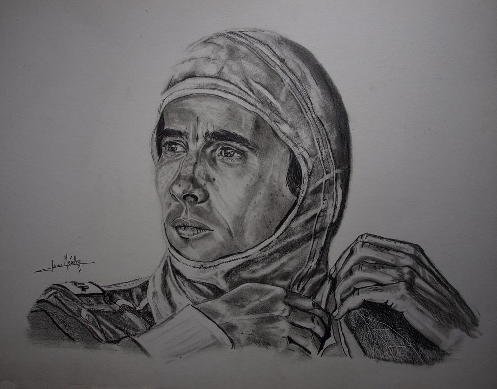 Senna, the gaze of Myth by JuanCMendez
