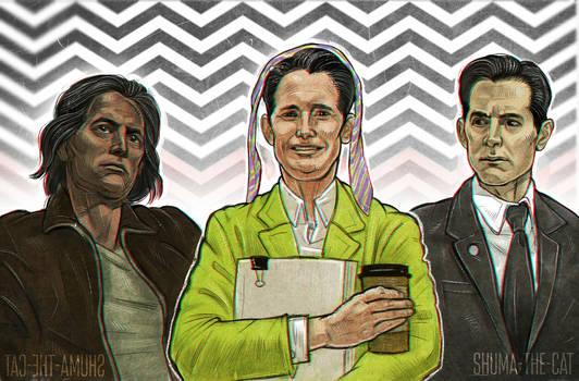 Twin Peaks 3 (fan art)