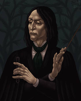 Severus Snape (renaissance style)