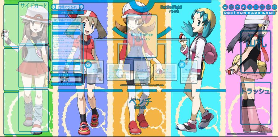 Pokemon Playmat By Nntb On Deviantart