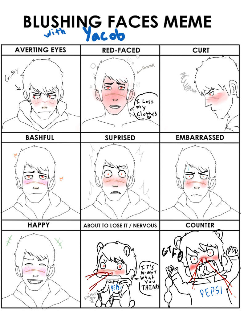 yacob__blushing_face_meme_by_grimathygunn d4gttae yacob blushing face meme by grimathygunn on deviantart