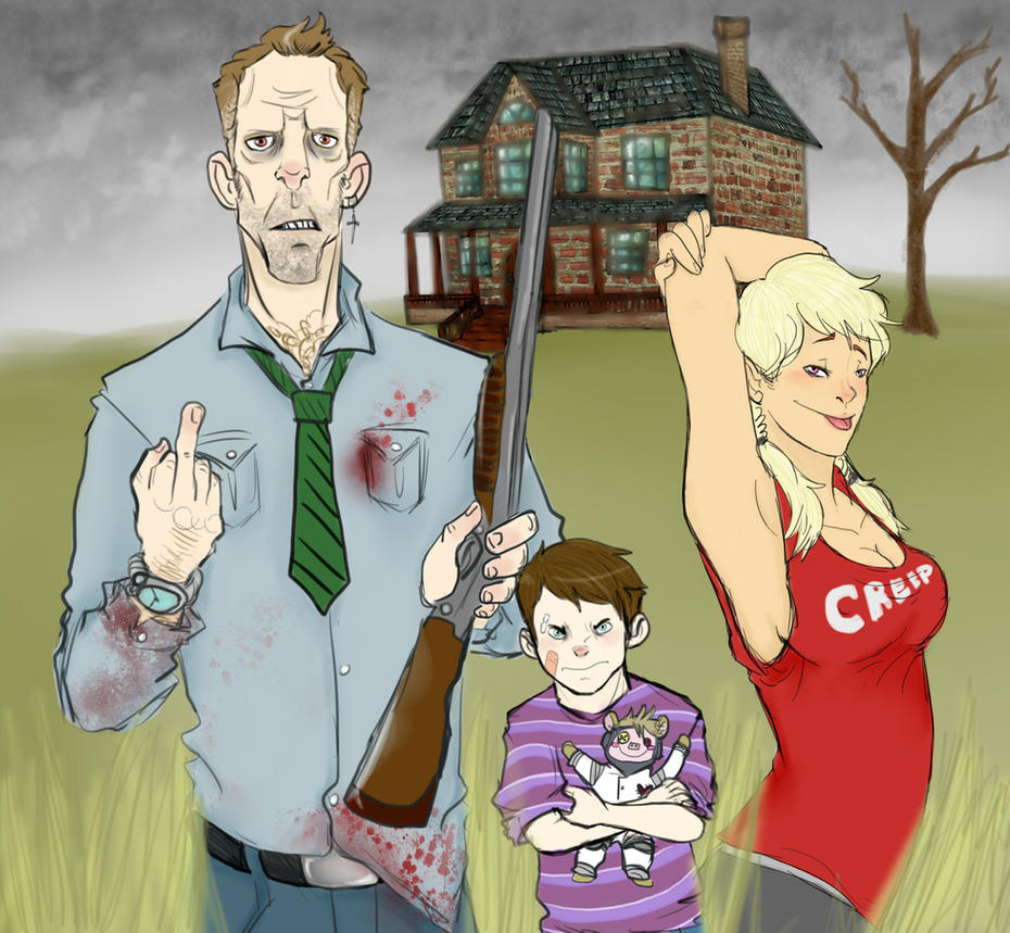 Meet the Creeps Family by GrimathyGunn