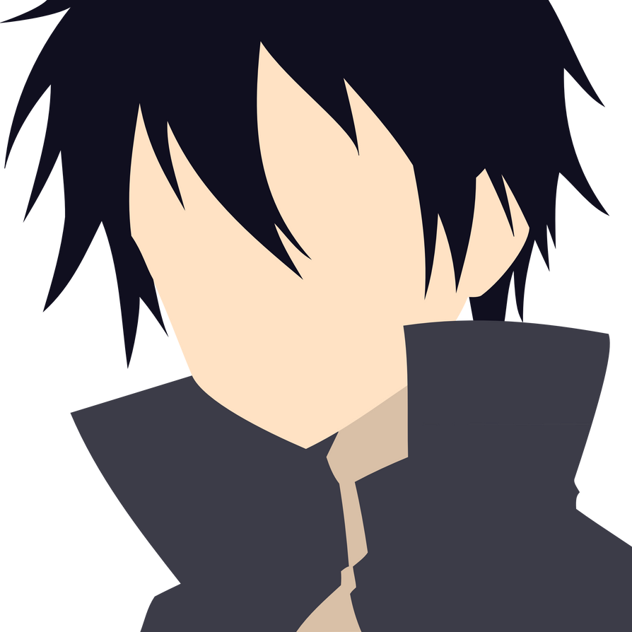 Sword Art Online Kirito Vector By Matniel On Deviantart