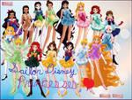 Sailor Disney Princesses
