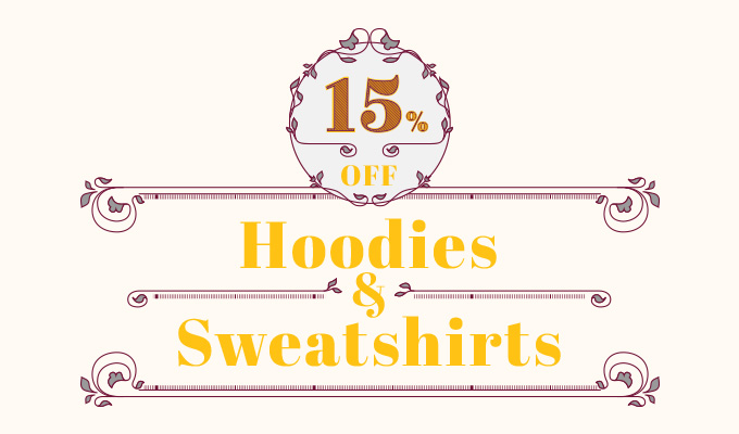 15% Off Blondieau Hoodies+sweat shirts! Code below by BlondieAu
