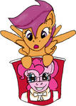 Pinkie Fried Scootaloo