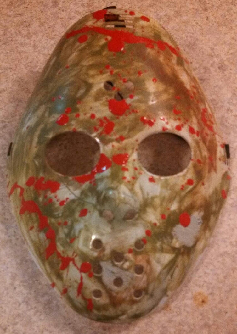 Dad's Halloween mask by Choji666