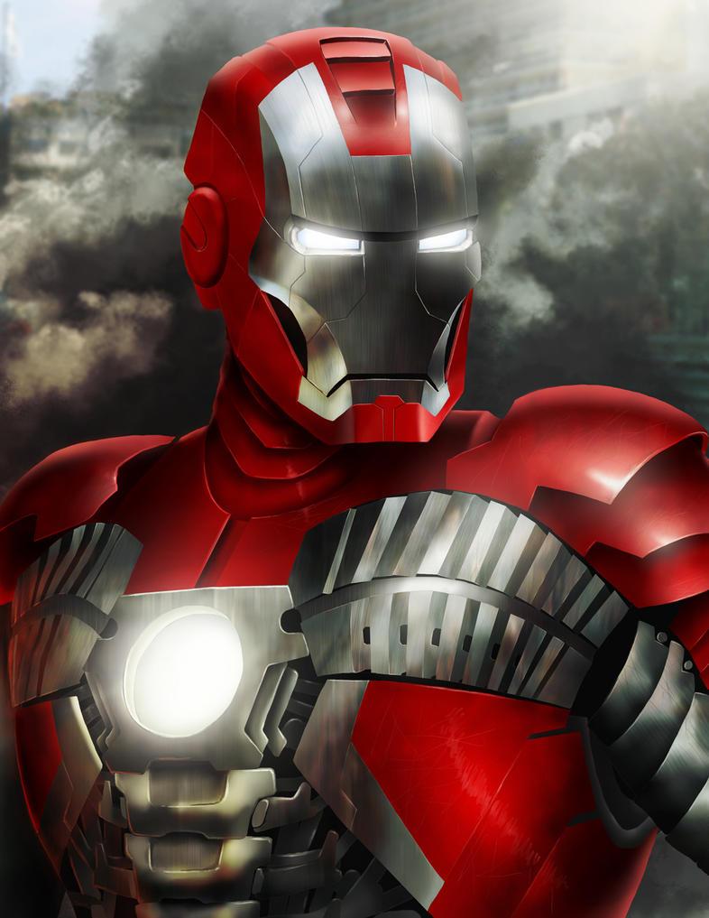 Iron Man Mark V by Sin-Vraal on DeviantArt  Iron Man Mark V...