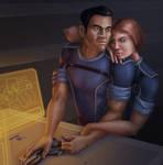 Commission: Shepard and Kaidan