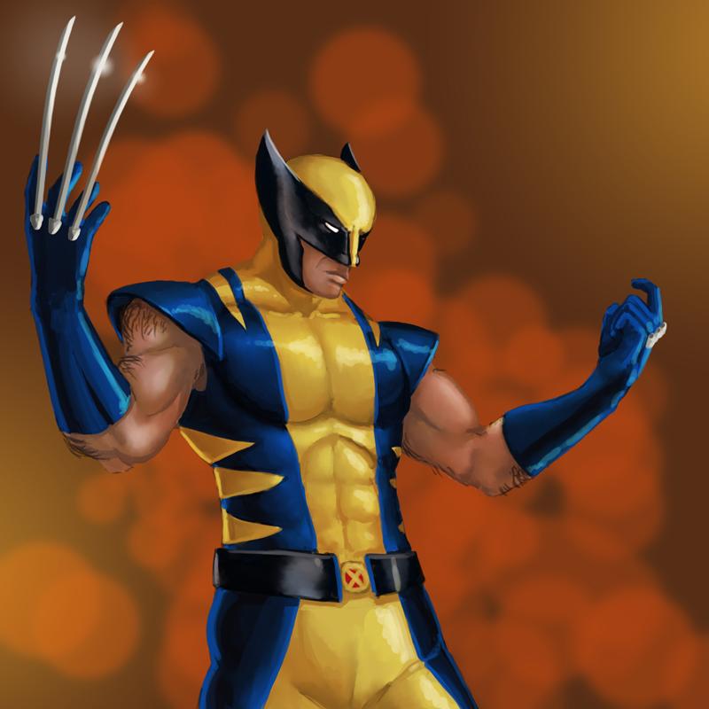 Wolverine by Sin-Vraal