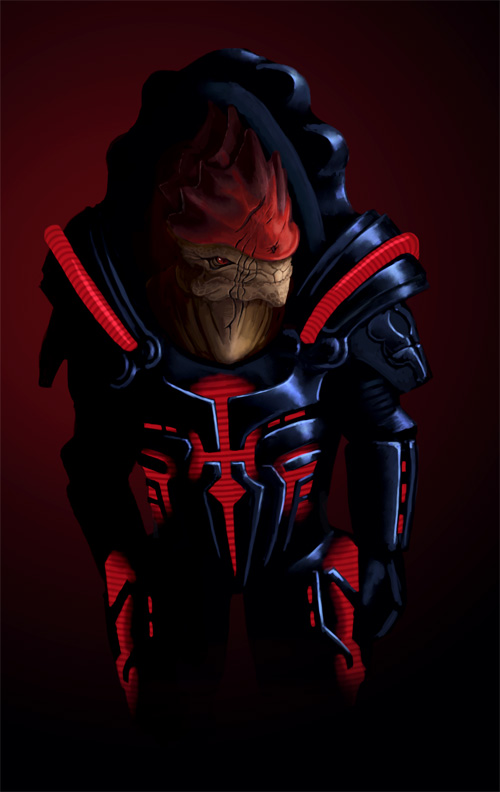 Wrex - cover by Sin-Vraal