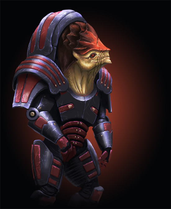 Cover - Wrex by Sin-Vraal