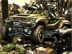 Mercedes Army WTB by GoodieDesign