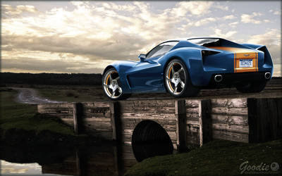 Corvette Stingray 2011 by GoodieDesign