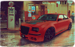 Chrysler 300C HotRed by GoodieDesign