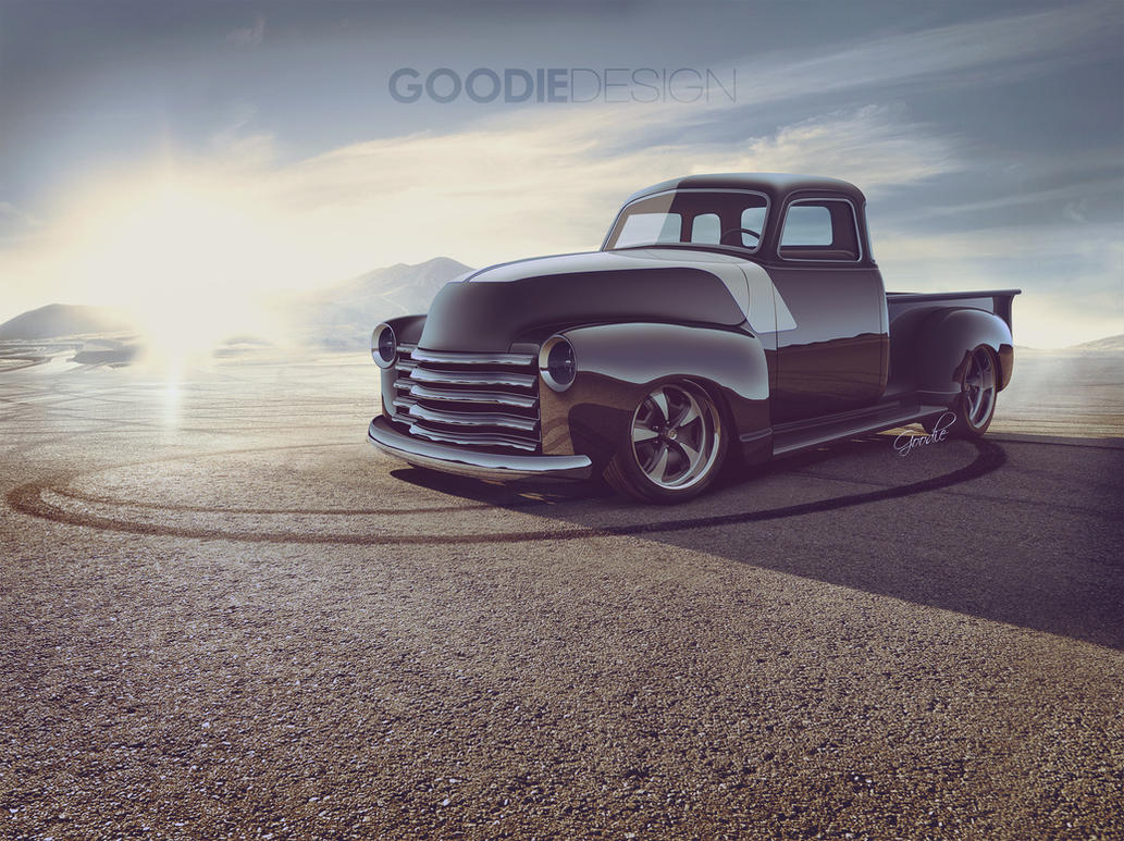 Chevy 3100 HotRod by GoodieDesign