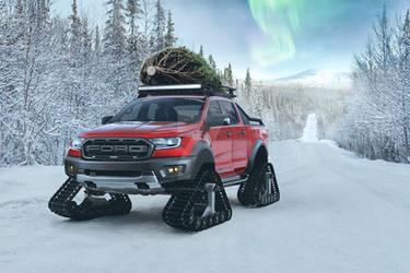 Ford Ranger Raptor Winter Edition